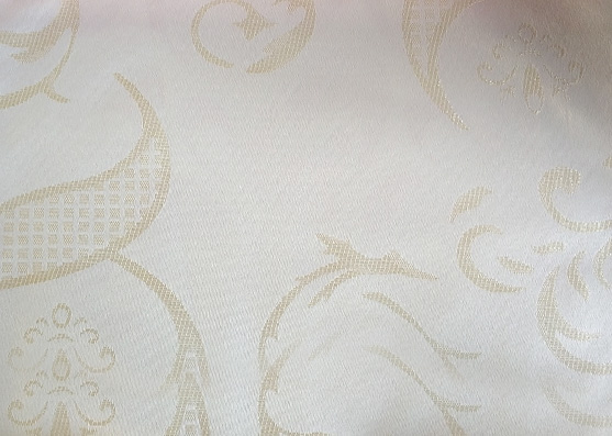 Golden Yarn Poly Knitted Mattress Woven Fabric