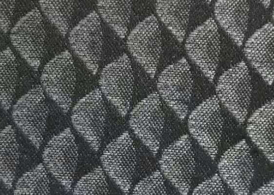 XH Woven polyester dark composite cloth K18-17