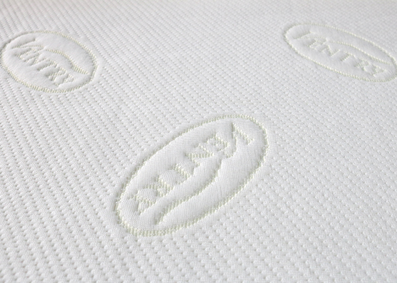 New Style Jacquard Spun Poly Mattress Knitted Fabric