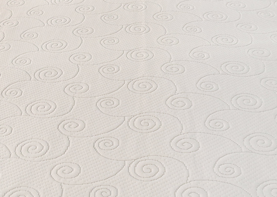 New Design Polyester Mattress Knitted Filament Fabric