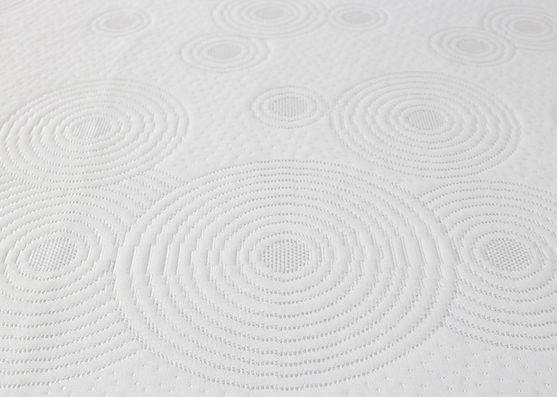 Modern Design Breathable 100% Polyester Ripple Mattress Fabric