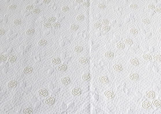 100% Polyester Flower Knitted Mattress Fabric