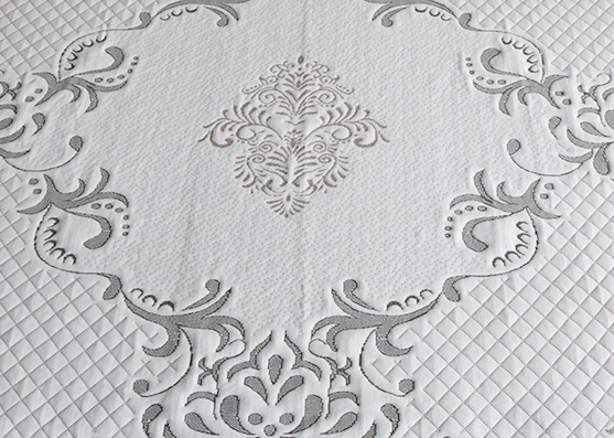 100%Polyester mattress cover knitted fabric for home textile