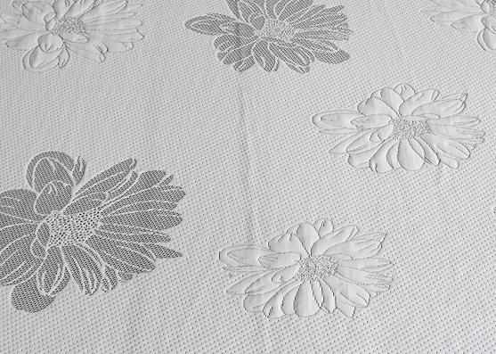 320gsm 100%Polyester luxury jacquard mattress fabric