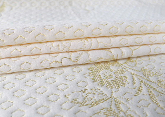 Factory Price White Poly Knitting Mattress Fabric X-212