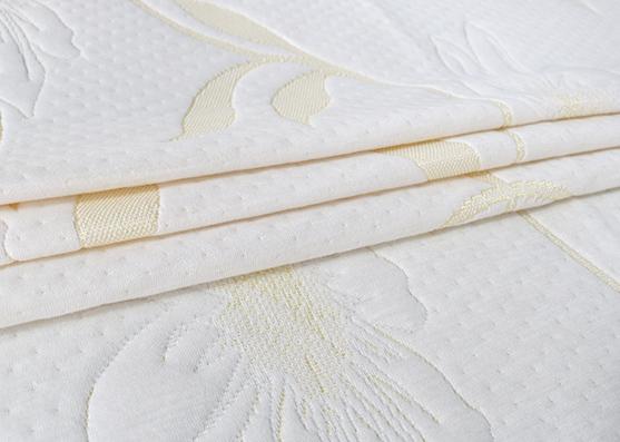 Function knit fabric chocolate knitted mattress ticking fabric fiber mattress fabric X-216yellow