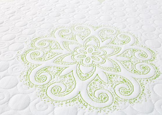 wholesale 100% polyester knitted mattress fabric home textile damask mattress ticking fabric X-220