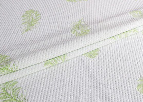 High Quality Good Price 100% Polyester Knitted Mattress Ticking Fabric X-221