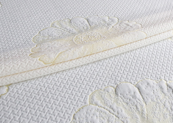 Modern design tear-resistant breathable knitted hangzhou mattress fabric X-226