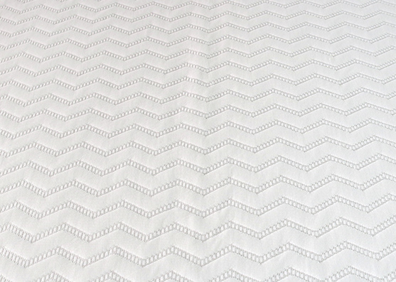 New Knitted Polyester Rayon Poly Spandex Knit Jacquard Mattress FabricX-246
