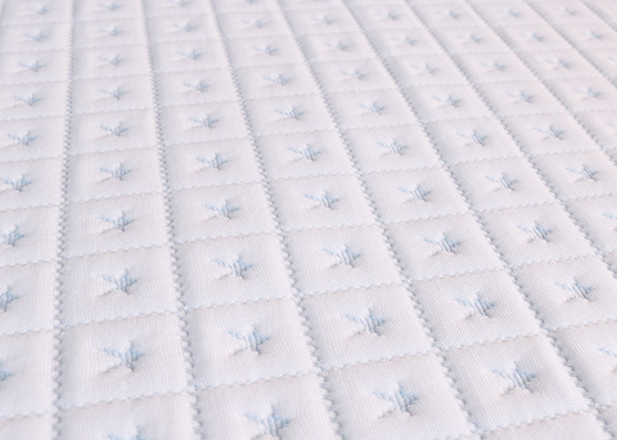 Yarn poly Knitted Wholesale Mattress Ticking fabric X-258-1