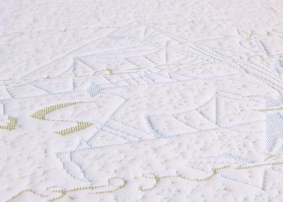 Waterproof textile jacquard mattress fabric, fabric mattress ticking X-264-1