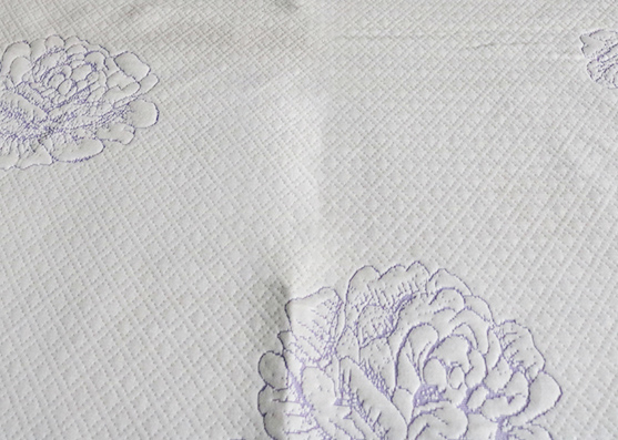 300gsm 100% polyester new printed mattress knitted fabric