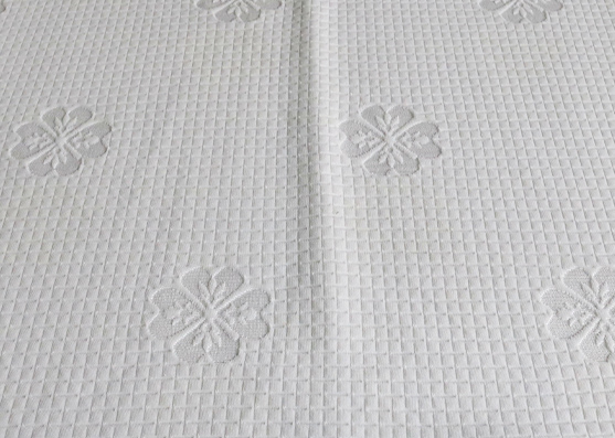 Factory directly mattress cover jacquard custom pure knitted fabric