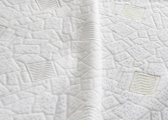 200gsm weight 100%Polyester water repellent mattress knitted fabric